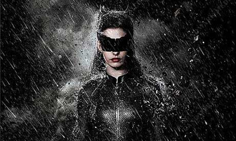 Anne Hathaway as Catwoman/Selina Kyle