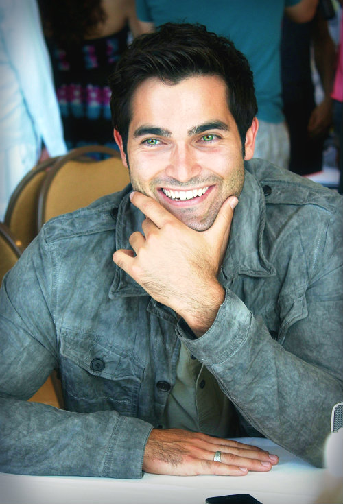 Tyler Hoechlin. He makes stubble an art form.