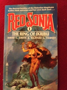 red sonja book image