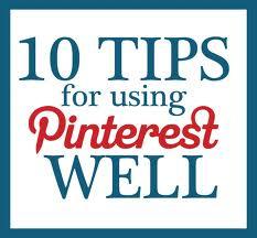 pinterest 10 tips