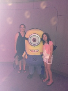 Minion with both of us